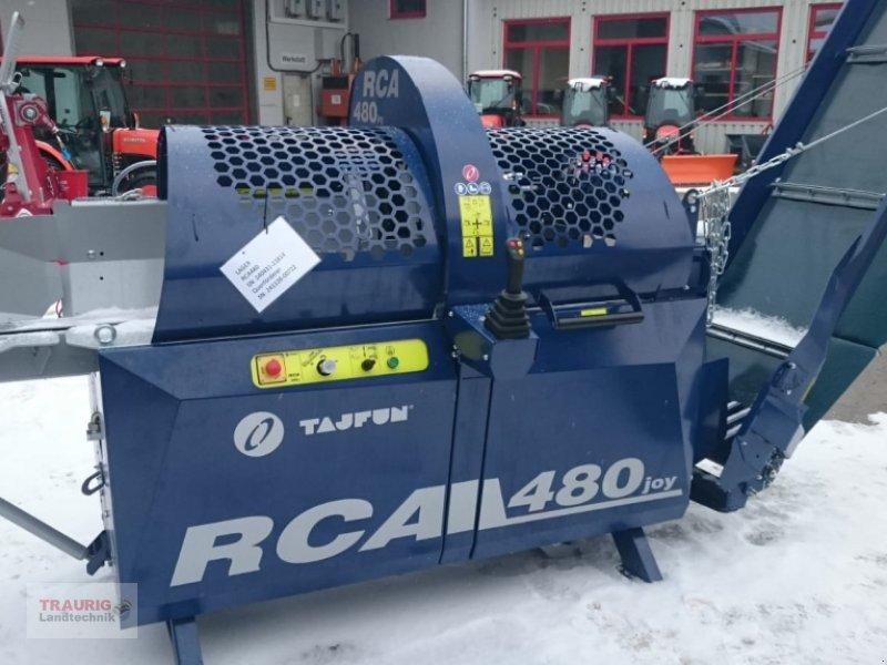 Sägeautomat & Spaltautomat des Typs Tajfun RCA480 mit Schwenkband, Neumaschine in Mainburg/Wambach (Bild 1)