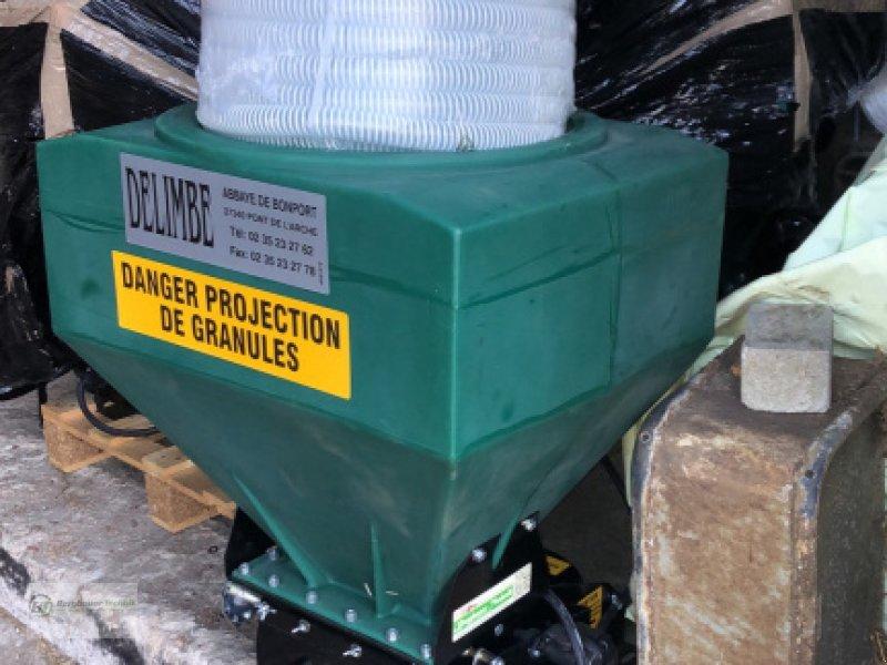 Sämaschine des Typs Delimbe T18E Pneumatikstreuer Zwischenfrucht Streuer Sämaschine Sägerät pneumatisch Mikrogranulat Nachsaatgerät, Neumaschine in Bad Kötzting (Bild 10)