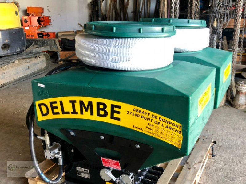 Sämaschine des Typs Delimbe T18E Pneumatikstreuer Zwischenfrucht Streuer Sämaschine Sägerät pneumatisch Mikrogranulat Nachsaatgerät, Neumaschine in Bad Kötzting (Bild 4)