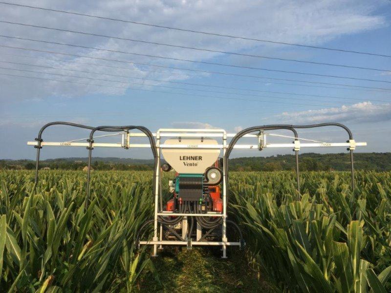 Sämaschine du type Lehner Vento II für Grasuntersaat im Mais, Gebrauchtmaschine en Schutterzell (Photo 1)