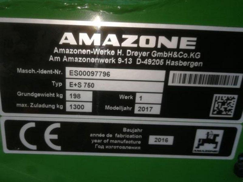 Sandstreuer & Salzstreuer типа Amazone E+S 750 incl. lys, presenning og PTO aksel, Gebrauchtmaschine в Vrå (Фотография 8)