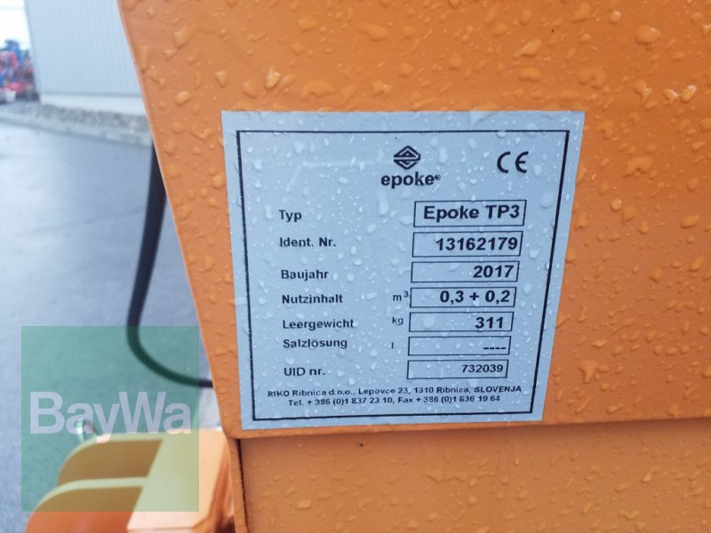 Sandstreuer & Salzstreuer des Typs Epoke TP 3K, Gebrauchtmaschine in Bamberg (Bild 10)