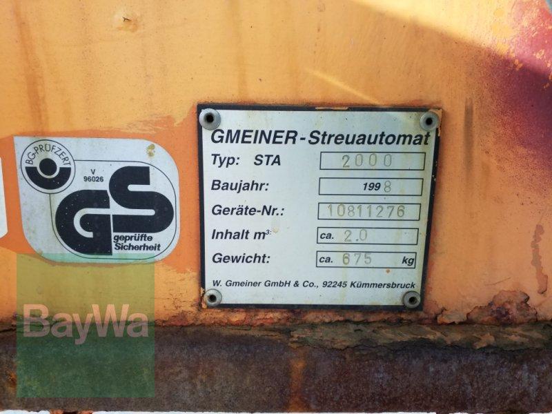 Sandstreuer & Salzstreuer des Typs Gmeiner STA 2000, Gebrauchtmaschine in Bamberg (Bild 11)