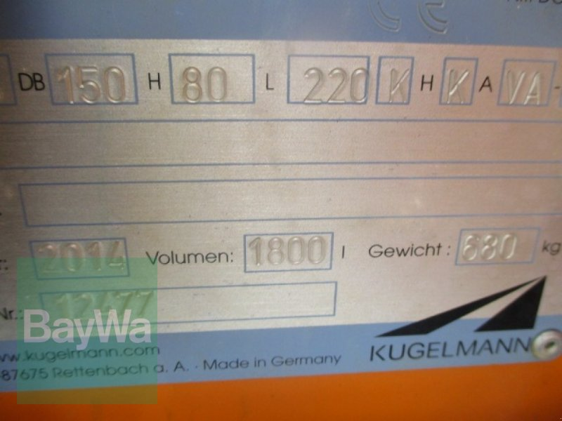 Sandstreuer & Salzstreuer des Typs Kugelmann Duplex Inox, Gebrauchtmaschine in Schönau b.Tuntenhausen (Bild 6)