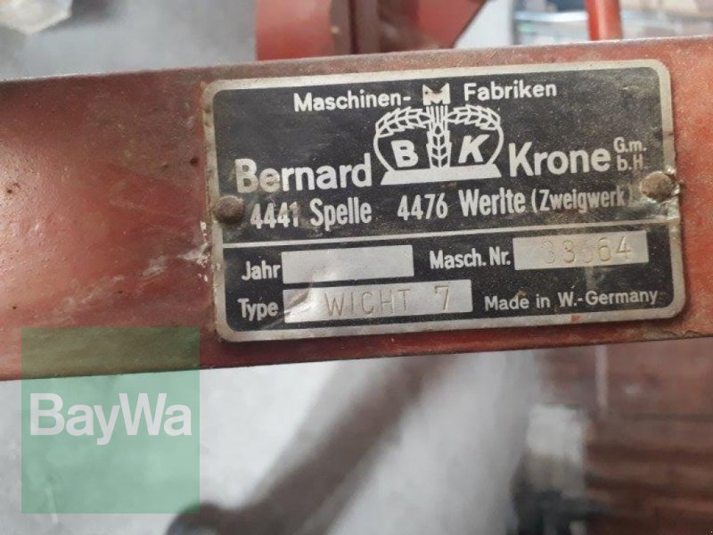 Schälpflug des Typs Krone Wicht 7, Gebrauchtmaschine in Ravensburg (Bild 7)