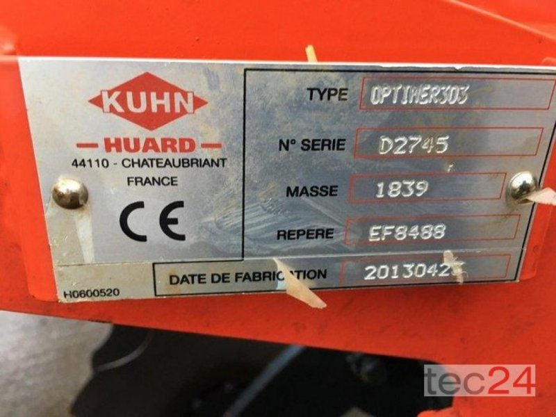 Scheibenegge des Typs Kuhn Optimer 303+, Gebrauchtmaschine in Diez (Bild 1)