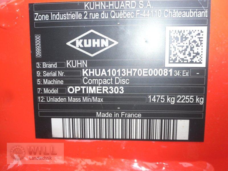 Scheibenegge des Typs Kuhn Optimer 303, Neumaschine in Rudendorf (Bild 4)
