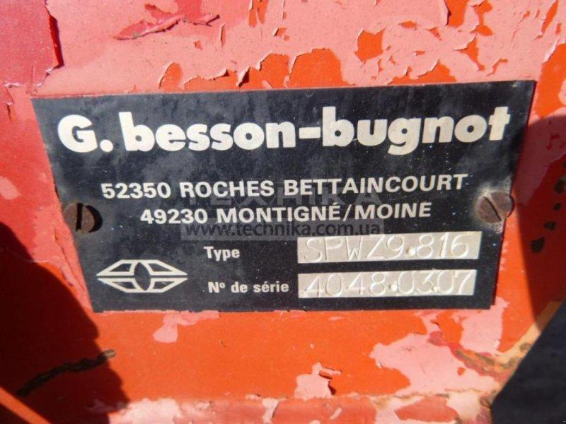 Scheibenpflug des Typs Gregoire-Besson SPW Z9, Gebrauchtmaschine in Біла Церква (Bild 2)