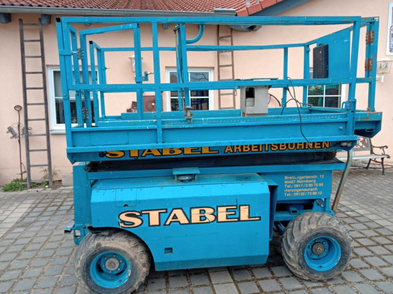 Scherenarbeitsbühne des Typs Genie GS 3268 rt, Gebrauchtmaschine in spalt (Bild 1)