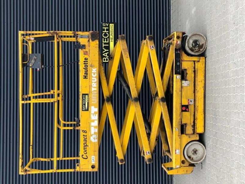 Scherenarbeitsbühne typu Haulotte compact 8 Der er monteret nye batterier, Gebrauchtmaschine w Hejnsvig (Zdjęcie 1)