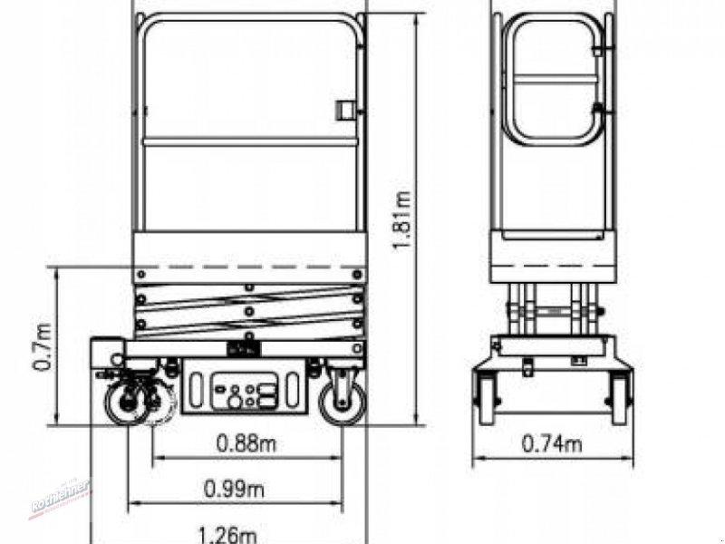 Scherenarbeitsbühne a típus Sonstige Lift, Gebrauchtmaschine ekkor: Massing (Kép 11)