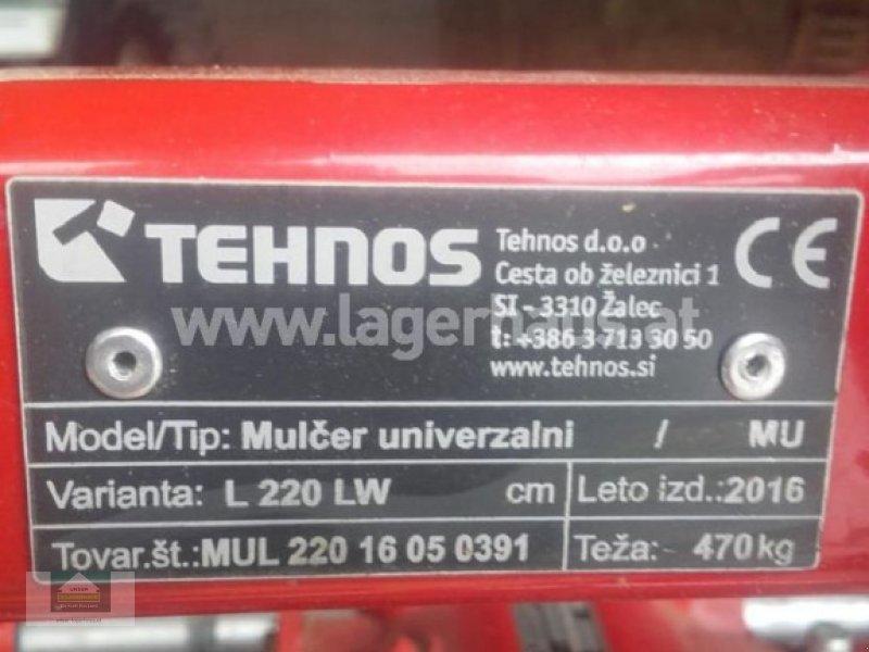 Schlegelmäher des Typs Tehnos MUL 220 LW, Gebrauchtmaschine in Klagenfurt (Bild 2)