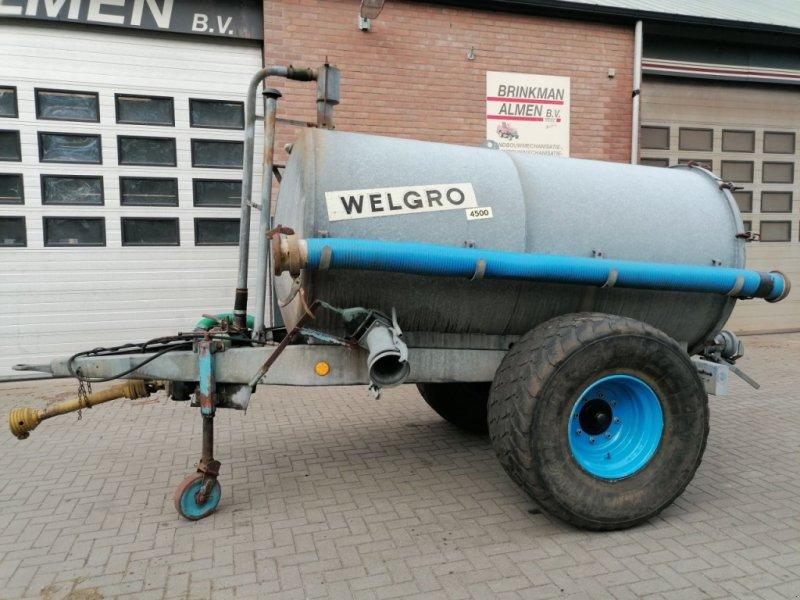 Schleudertankwagen типа Sonstige Welgro 4500, Gebrauchtmaschine в Almen (Фотография 1)