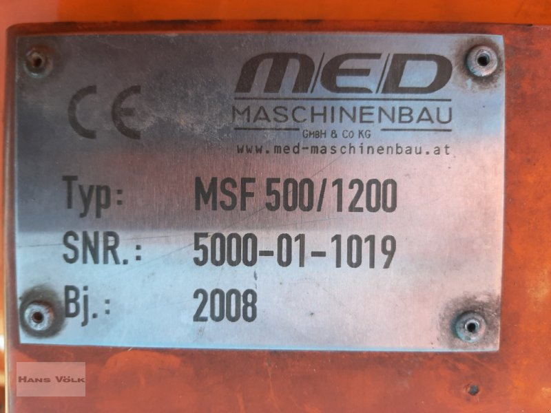 Schneefräse des Typs MED-Maschinenbau MSF-Schneefräse, Gebrauchtmaschine in Antdorf (Bild 8)