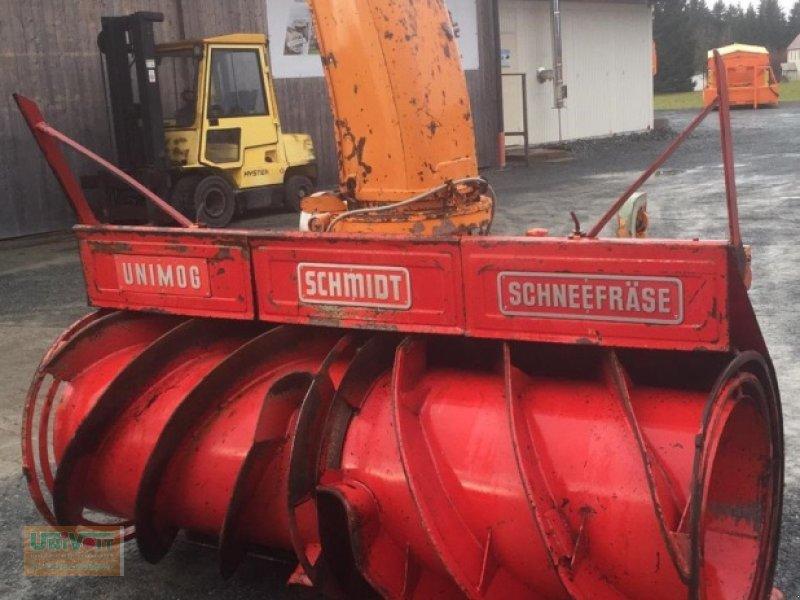 Schneefräse tip Schmidt Unimog - MB trac Schneefräse Schmidt VF3 ZL Frontzapfwelle, Gebrauchtmaschine in Warmensteinach (Poză 1)