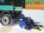 Univoit Loipenspurgerät Dreipunktanbau Fräse Spurplatten Rodelbahn Pług wirnikowy do śniegu