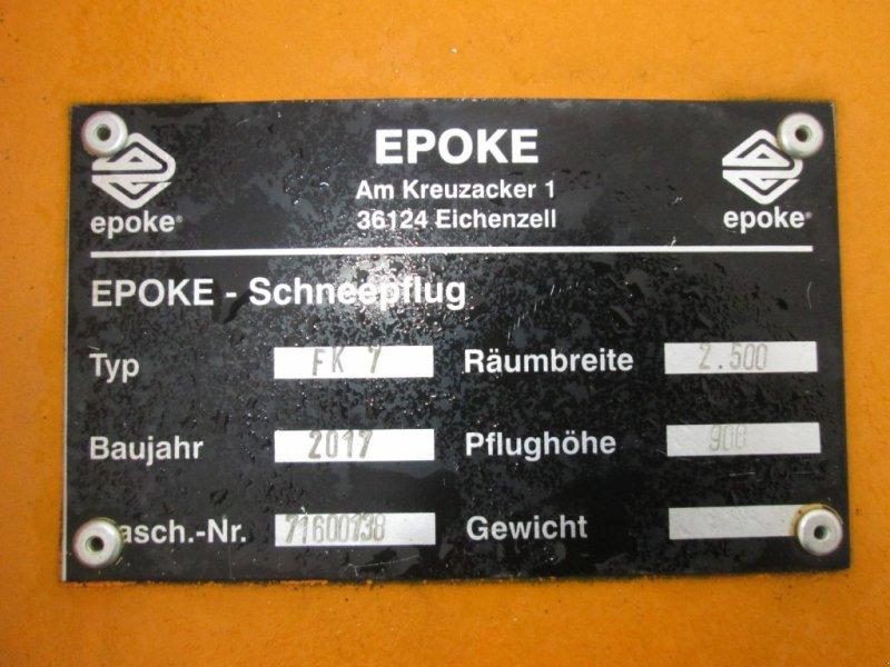 Schneepflug des Typs Epoke FK 7 Federklappenschneepflug, Gebrauchtmaschine in Wülfershausen (Bild 6)