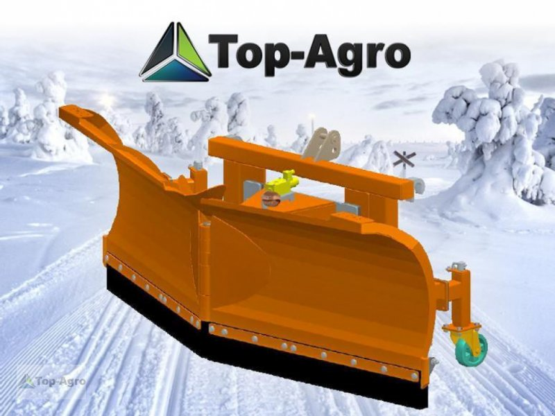Schneepflug typu Top Agro Schneeschild Schneepflug VARIO Serie PRO 2,2m  !!NEU!!, Neumaschine w Zgorzelec (Zdjęcie 1)