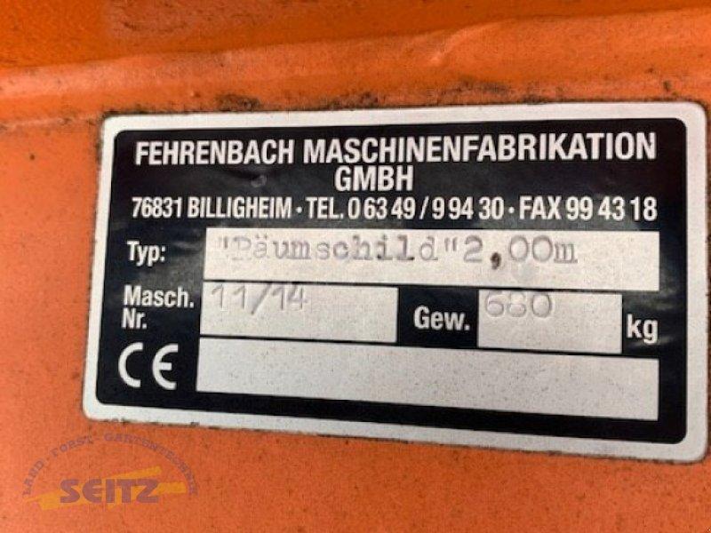 Schneeräumschild typu Fehrenbach  Schneeräumschild 2,0 m, Gebrauchtmaschine v Lindenfels-Glattbach (Obrázok 2)