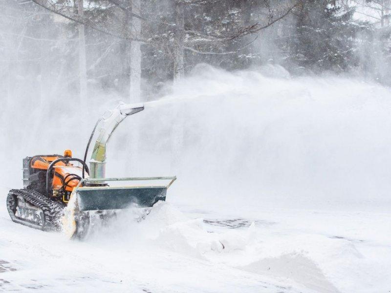 Schneeräumschild des Typs Sonstige Schneefräse für RoboGREEN evo, Gebrauchtmaschine in Krustetten (Bild 1)