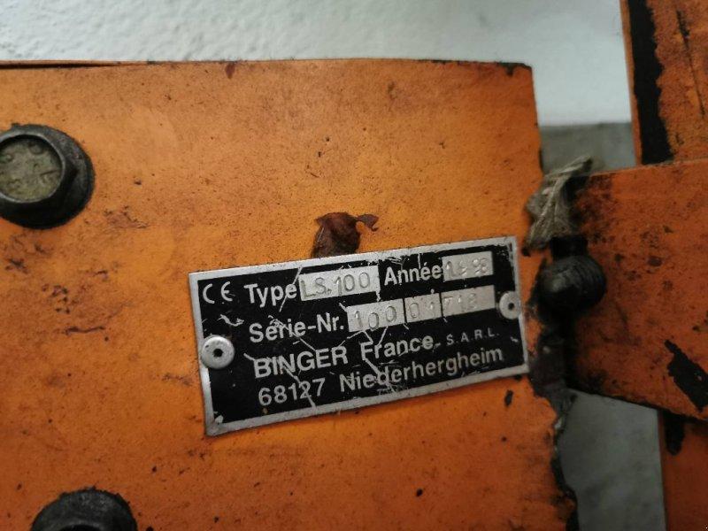 Schneidgerät des Typs Binger LS 100, Gebrauchtmaschine in ST MARTIN EN HAUT (Bild 2)