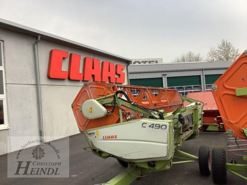 Schneidwerk des Typs CLAAS C 490, Gebrauchtmaschine in Stephanshart (Bild 1)