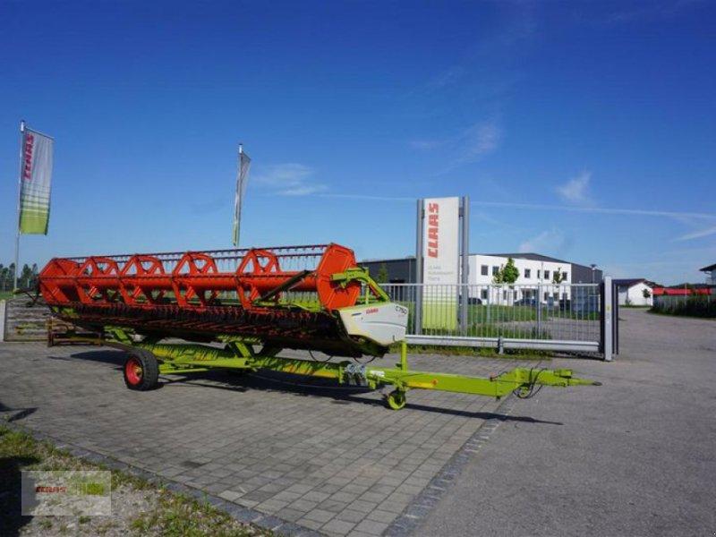Schneidwerk des Typs CLAAS C 750 + Transportwagen, Gebrauchtmaschine in Töging am Inn (Bild 1)