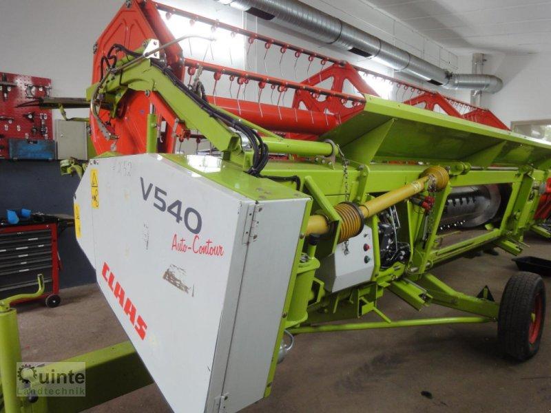 Schneidwerk typu CLAAS V540-Schneidwerk, Gebrauchtmaschine w Lichtenau-Kleinenberg (Zdjęcie 1)