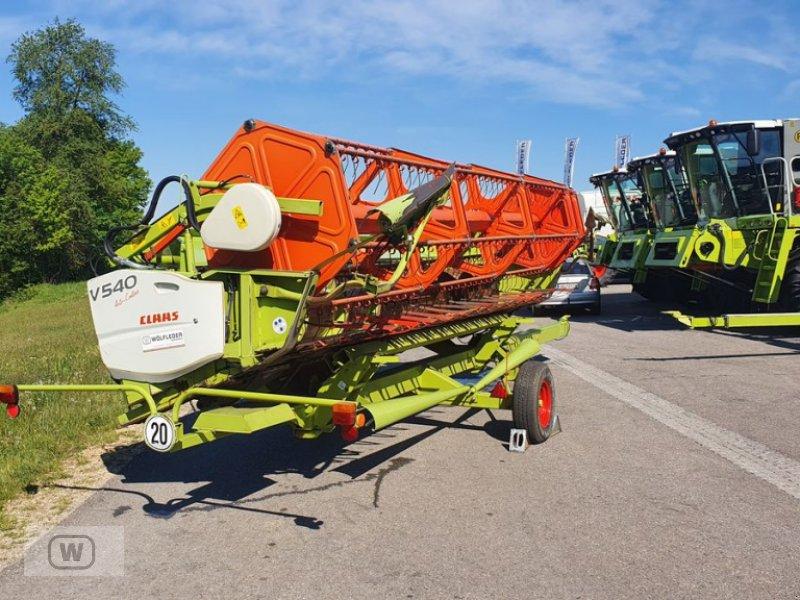 Bild CLAAS V540 + Schneidwerkswagen