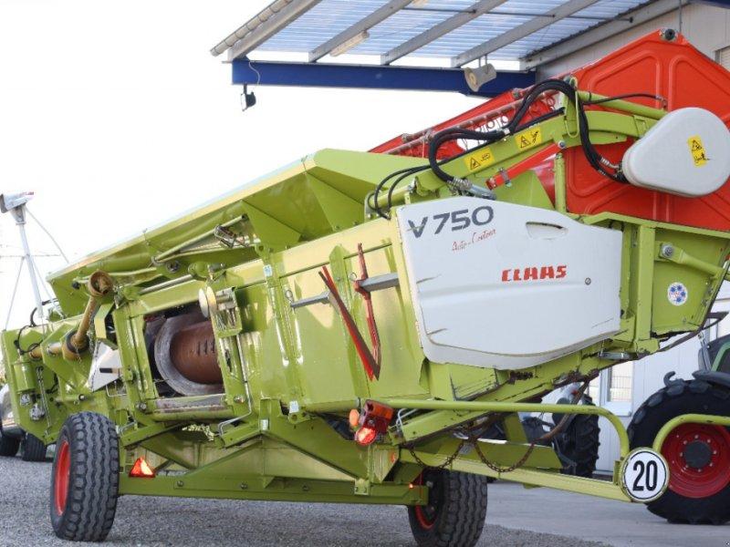 Schneidwerk des Typs CLAAS V750, Gebrauchtmaschine in Schutterzell (Bild 1)