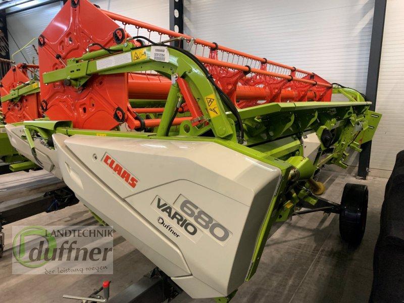Schneidwerk des Typs CLAAS Vario 680 AC, Gebrauchtmaschine in Hohentengen (Bild 1)