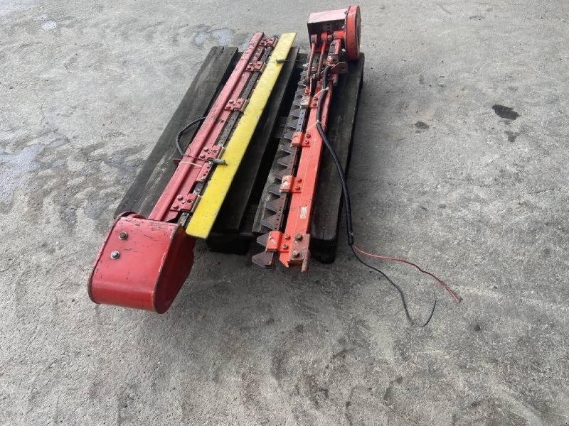 Schneidwerk typu Mörtl elektrische Seitenmesser 1,4 m lang, Gebrauchtmaschine w Schutterzell (Zdjęcie 1)