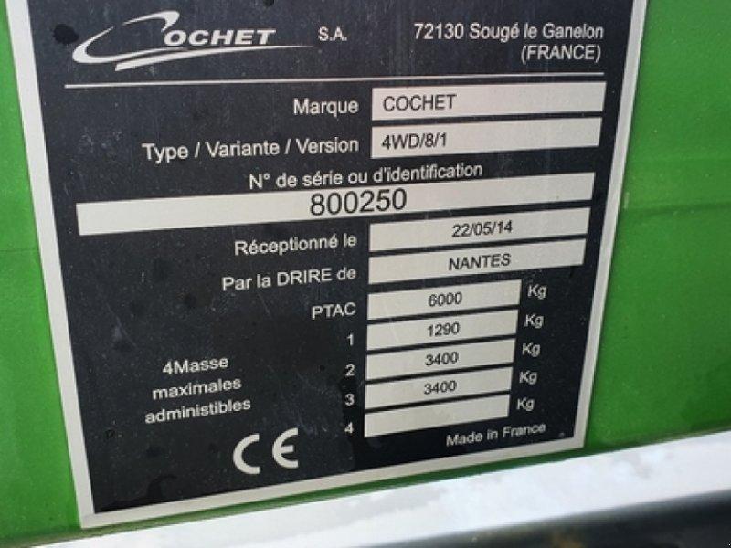 Schneidwerkswagen типа Cochet 4WD8, Gebrauchtmaschine в DOMFRONT (Фотография 5)