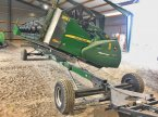 Schneidwerkswagen of the type John Deere 630R in Sonnewalde