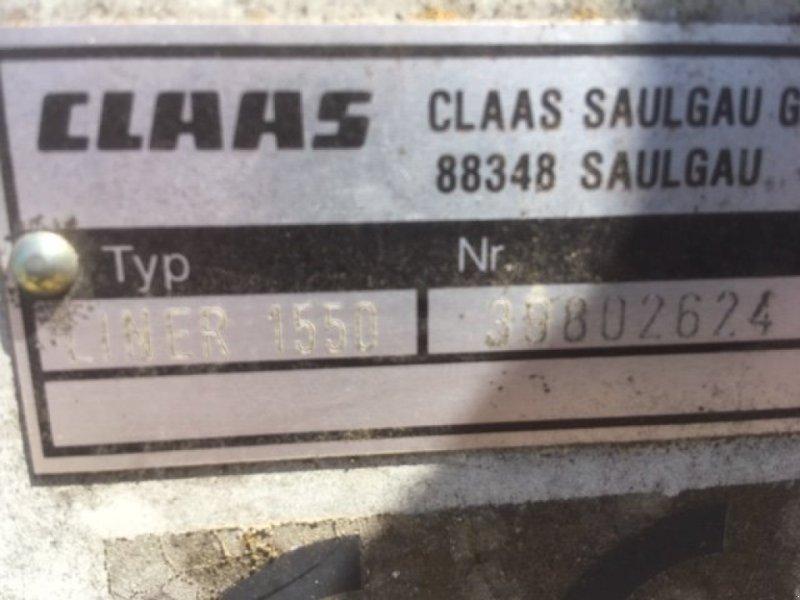 Schwader des Typs CLAAS Liner 1550, Gebrauchtmaschine in Rinchnach (Bild 4)