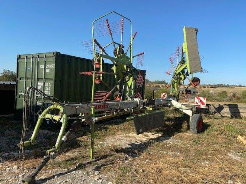 Schwader des Typs CLAAS LINER 1550TW, Gebrauchtmaschine in CHATEAU PORCIEN (Bild 1)
