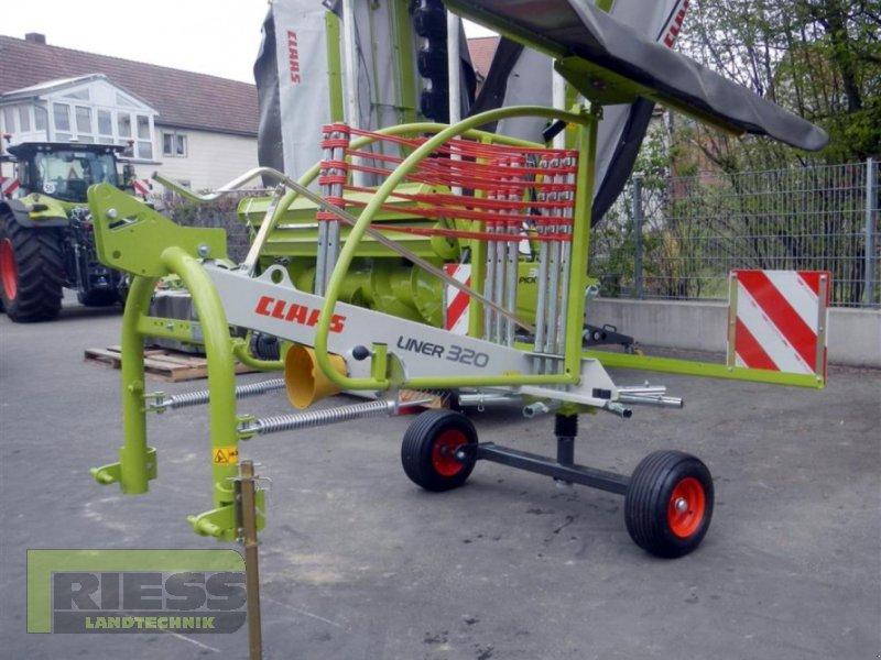 Schwader des Typs CLAAS LINER 320, Gebrauchtmaschine in Homberg (Ohm) - Maulbach (Bild 1)
