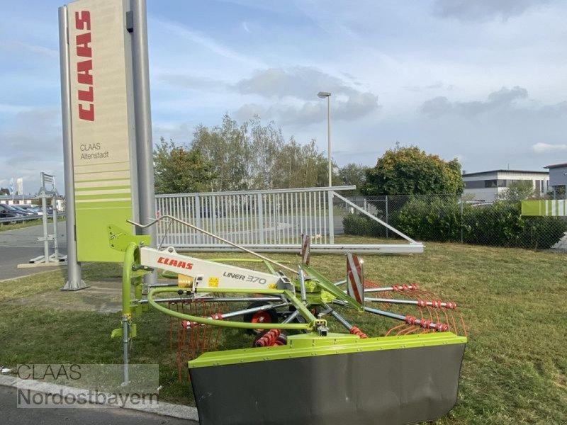 Schwader des Typs CLAAS LINER 370 TANDEM SCHWADER CLAA, Neumaschine in Altenstadt a.d. Waldnaab (Bild 1)