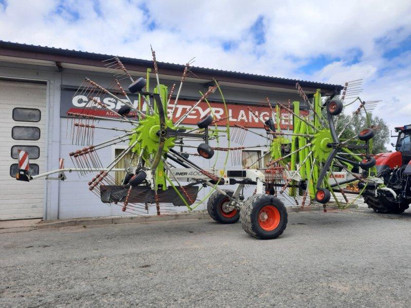 Schwader des Typs CLAAS Liner 4000, Gebrauchtmaschine in Klempau (Bild 3)