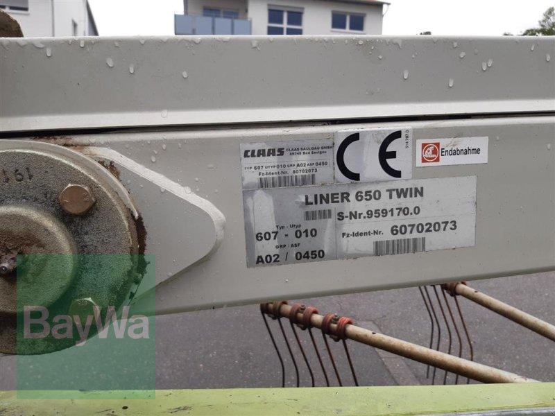 Schwader des Typs CLAAS Liner 650 Twin, Gebrauchtmaschine in Ehingen (Bild 6)