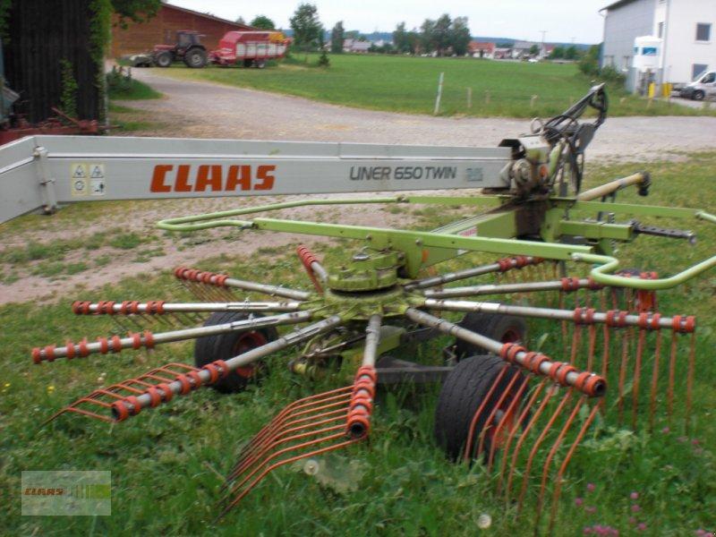 Schwader des Typs CLAAS Liner 650 Twin, Gebrauchtmaschine in Erkheim (Bild 2)