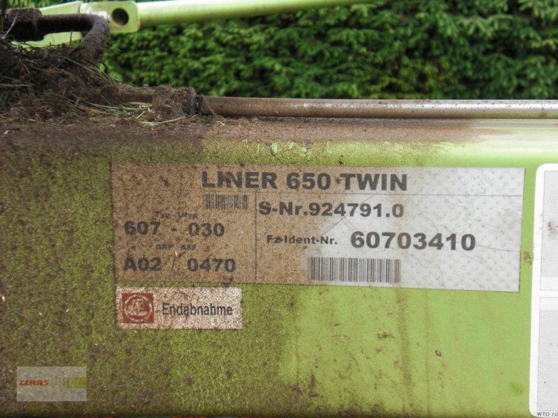 Schwader des Typs CLAAS Liner 650 Twin, Gebrauchtmaschine in Erkheim (Bild 6)