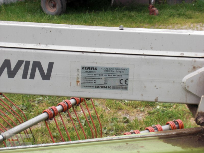 Schwader des Typs CLAAS Liner 650 Twin, Gebrauchtmaschine in Erkheim (Bild 10)
