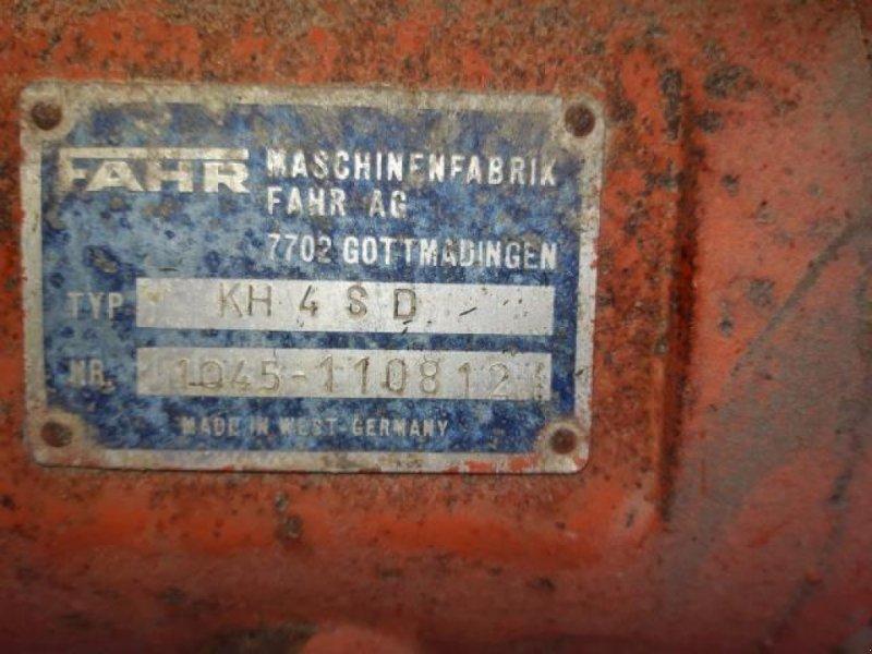 Schwader типа Fahr KH 4SD, Gebrauchtmaschine в Odder (Фотография 3)