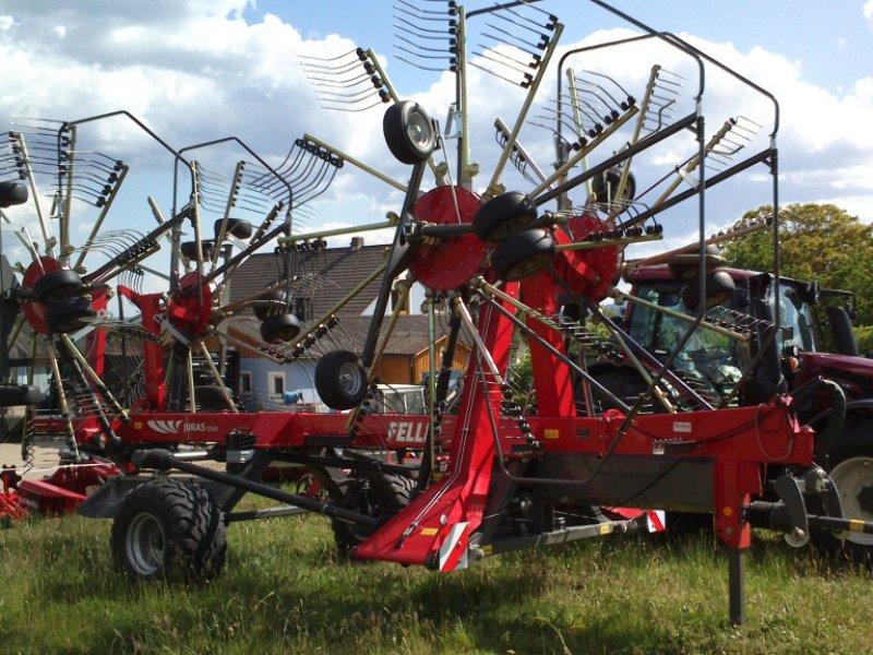 Schwader des Typs Fella Juras 12545, Neumaschine in Bodenwöhr/ Taxöldern (Bild 1)