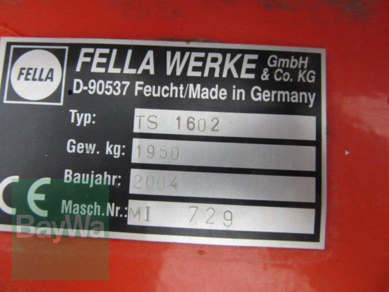 Schwader des Typs Fella TS 1602, Gebrauchtmaschine in Erbach (Bild 4)