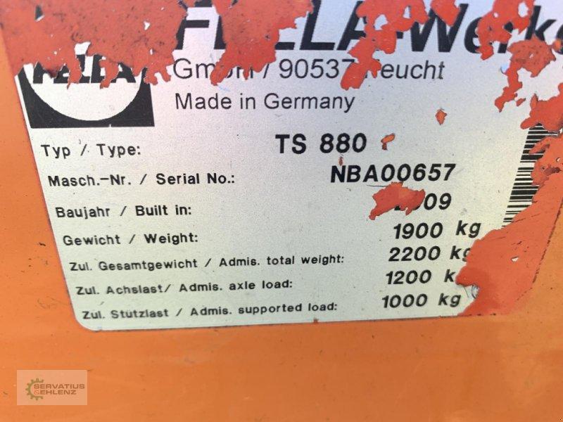 Schwader des Typs Fella TS 880 Mittelschwader sauber und sofort einsatzbereit, Gebrauchtmaschine in Rittersdorf (Bild 3)