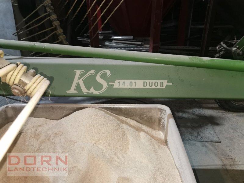 Schwader des Typs Krone KS 14.01 Duo II, Gebrauchtmaschine in Schierling (Bild 1)