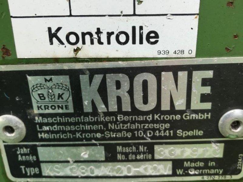 Schwader des Typs Krone KS 3.80-4.20/12 Vario, Gebrauchtmaschine in Pfullendorf (Bild 6)