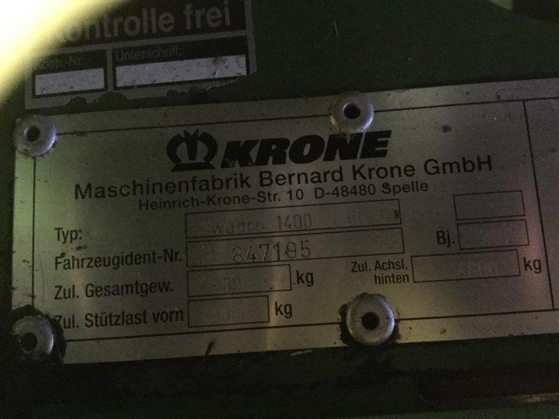 Schwader a típus Krone Swadro 1400 plus Med træk, Gebrauchtmaschine ekkor: Kongerslev (Kép 3)